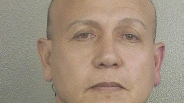 In a booking photo provided by the Broward County Sheriff's Office, Cesar Sayoc, in Ft. Lauderdale, Fla., on Jan. 27, 2015. Sayoc was arrested on Friday, Oct. 26, 2018, in connection with the nationwide bombing campaign against outspoken critics of President Donald Trump, a law enforcement official said. Sayoc styled himself as a bodybuilder and an entrepreneur in South Florida. But court records and people who knew him recalled him differently. (Broward County Sheriff's Office via The New York Times) -- EDITORIAL USE ONLY --