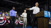 IMAGES: Once Reluctant to Speak Out, an Energized Obama Calls Out His Successor