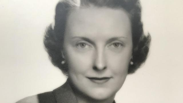In an undated photo from her archive, Carlene Roberts Lawrence. Lawrence, who worked her way up from a $150-a-month secretarial job to become, by wide acknowledgment, the first woman to break into the airline industry's executive ranks, died on Oct. 29 at her home in Manhattan. She was 105. (Carlene Roberts Lawrence Archive via The New York Times) -- NO SALES; FOR EDITORIAL USE ONLY WITH NYT STORY OBIT LAWRENCE BY ENID NEMY FOR NOV. 3, 2018. ALL OTHER USE PROHIBITED. --