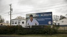 IMAGES: Amy McGrath, a Soaring Democratic Candidate, Is Brought Back to Earth on Election Day