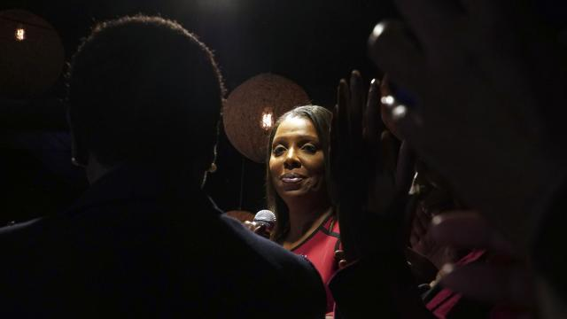 Letitia James, the next New York attorney general and the first black woman elected to statewide office, in New York, Nov. 6, 2018. In a nation torn by race, a slate of minorities around the country, mostly Democrats, won congressional seats in predominantly white communities, some of which had never elected a black representative. (Michelle V. Agins/The New York Times).
