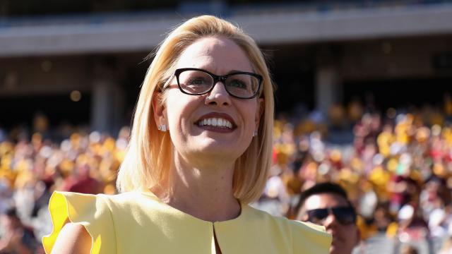 Democratic Senate candidate Kyrsten Sinema pulls out a tough race in Arizona. Christian Petersen/Getty Images