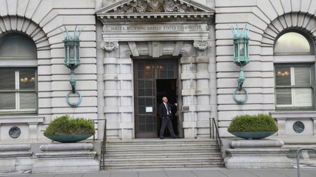 FILE -- The United States Court of Appeals in San Francisco, Feb. 10, 2017. President Donald Trump lashed out on Nov. 20, 2018, against the United States Court of Appeals for the Ninth Circuit, based in San Francisco, calling it a lawless disgrace and threatening unspecified retaliation. (Jim Wilson/The New York Times)