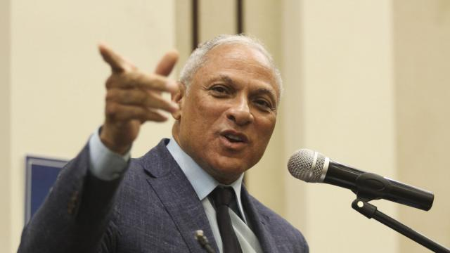 Mike Espy, a Democratic Senate candidate, campaigns in Jackson, Miss., Nov. 17, 2018. With polls showing Sen. Cindy Hyde-Smith's advantage dwindling, Republicans have scrambled to find new lines of attack against Espy, a former member of Congress and agriculture secretary under President Bill Clinton. (Courtland Wells/The New York Times)