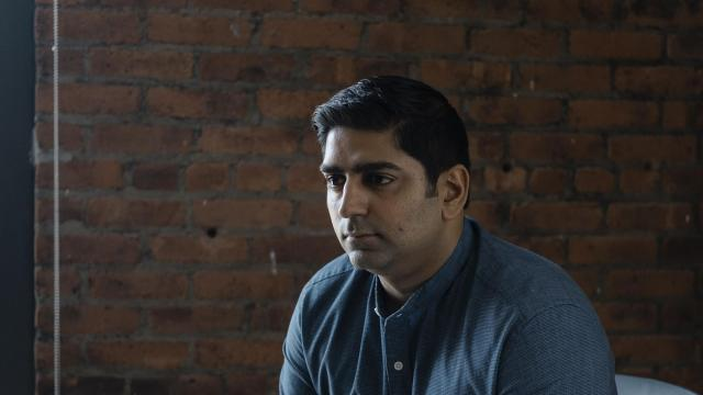 Sarfraz Maredia, the general manager for the Northeast for Uber, at Uber headquarters in Manhattan, Aug. 9, 2018. Maredia is leading Uber through a moment of crisis as it faces pressure to keep growing and criticism over how it treats its drivers. (Christopher Lee/The New York Times)