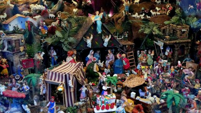Harris Taormina's presepio at his house in Ozone Park, Queens, Nov. 25, 2018. The presepio is to Italians what the Christmas tree is to Germans, and the legacy of Italian immigrants is on display all over the city this time of year. (Michelle V. Agins/The New York Times)