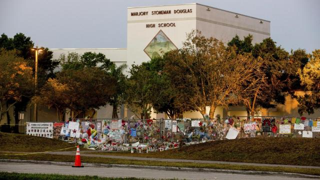 FILE -- Marjory Stoneman Douglas High School in Parkland, Fla., Feb. 28, 2018. A federal judge in Florida ruled that the Broward County schools and the county sheriff's office had no legal duty to protect students during the shooting at Marjory Stoneman Douglas High School on Feb. 14. (Saul Martinez/The New York Times)