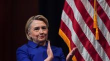 IMAGE: Hillary Clinton tells friends she's leaving 2020 door open