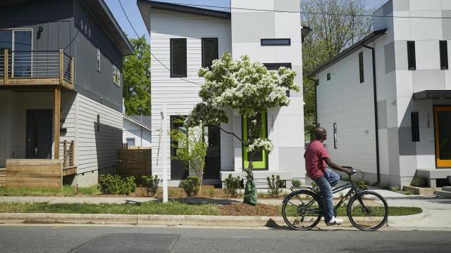The Neighborhood Is Mostly Black.The Homebuyers Are Mostly White.