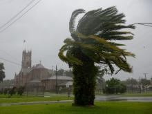 Barry Upgraded to Category 1 Hurricane