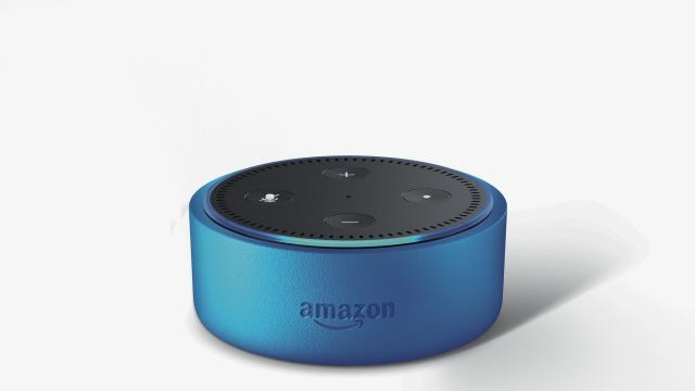 An undated photo provided by Amazon shows the Amazon Echo Dot Kids edition is a smart home device, personal assistant and speaker in one with parental controls. Many of us may not realize that in some instances when we ask the digital companions in our homes, whether it's Amazon's Alexa, Apple's Siri or Google Assistant, to handle innocuous tasks, there might be a person listening in, too. (Amazon via The New York Times) -- NO SALES; FOR EDITORIAL USE ONLY WITH TECH FIX BY BRIAN X. CHEN FOR AUG. 21, 2019. ALL OTHER USE PROHIBITED. --