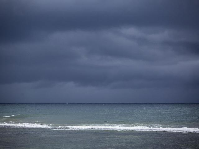 Storm clouds gather off Patillas, Puerto Rico, as Tropical Storm Dorian approaches on Wednesday, Aug. 28, 2019. The storm is expected to slam into the Virgin Islands and northeastern Puerto Rico on Wednesday. (Erika P. Rodriguez/The New York Times)