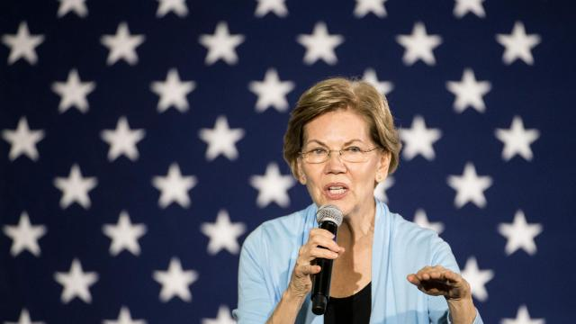 Warren Seeks a Second Act After Slip from the Top