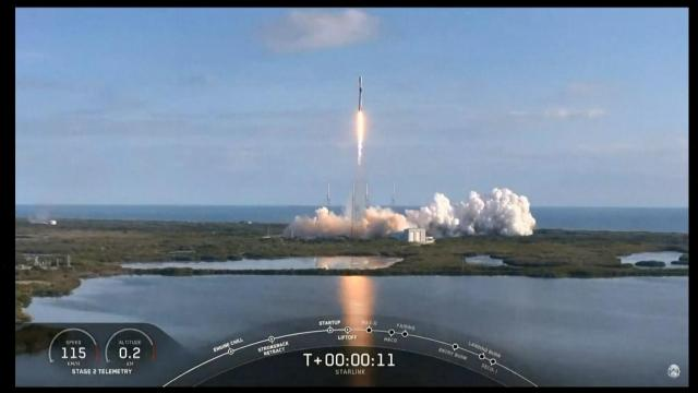 RAW: SpaceX launch of 60 Starlink satellites