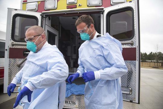 First responders brace for strain from coronavirus