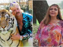 Joe Exotic and Carole Baskin