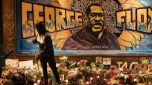 IMAGE: Hundreds to gather at memorial for George Floyd in Minneapolis