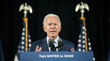IMAGES: Fact check: Trump falsely says Biden won't protect pre-existing condition protections