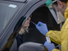 'It's Like Groundhog Day': Coronavirus Testing Labs Again Lack Key Supplies