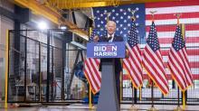 IMAGES: Fact check: Biden says crime fell under Obama, rose under Trump