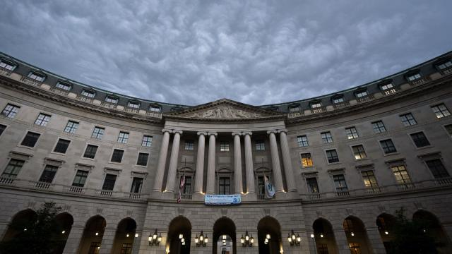 FILE -- The headquarters of the Environmental Protection Agency in Washington on July 30, 2020. According to a database kept by the nonpartisan Institute for Policy Integrity, the EPA has won only nine out of 47 cases in court under President Donald Trump. (Stefani Reynolds/The New York Times)