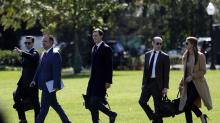 IMAGES: The Latest: Top Trump aide Stephen Miller tests positive
