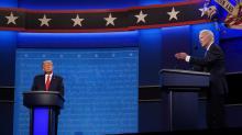 IMAGE: Fact-checking final presidential debate