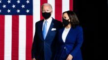 IMAGE: Reaction to Joe Biden, Kamala Harris win