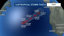 IMAGE: Theta forms as season's 29th named storm, breaking a record