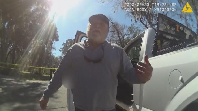 Bodycam video shows moments after Ahmaud Arbery shooting