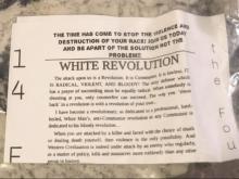 Racist flyers blanket Texas neighborhood