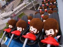 Bob Ross dolls break in new ride at Kings Island