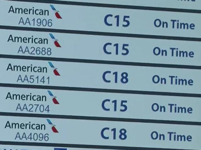 Frustrations mount at RDU as more than 100 American Airlines flights canceled - WRAL.com