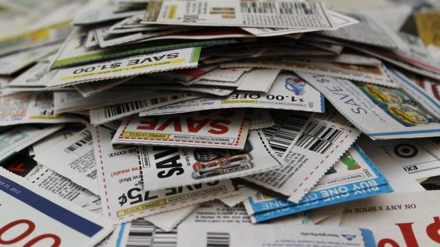 Coupon Pile Stock Photo from OOingle.com on Flickr.