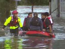Heavy rain, high winds, flooding as nor'easter impacts New York