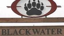 Blackwater USA sign