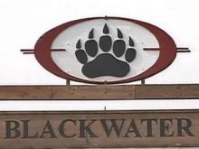 Blackwater USA sign