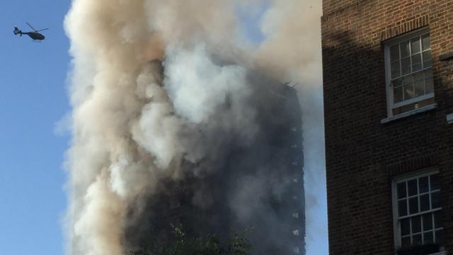 Grenfell Tower: 79 presumed dead in London fire
