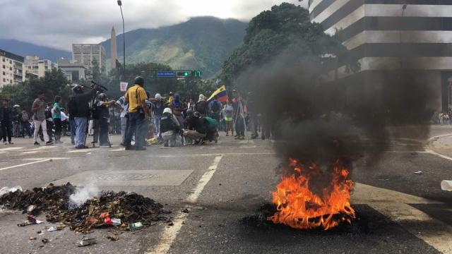 Venezuela remained a powder keg on Sunday, August 6, 2017 as authorities said they had quelled an anti-government paramilitary attack at a military base that led to the deaths of two peopl