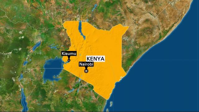 Police say one person was killed and at least four others hurt in overnight protests after the re-electio of Kenyan President Uhuru Kenyatta.