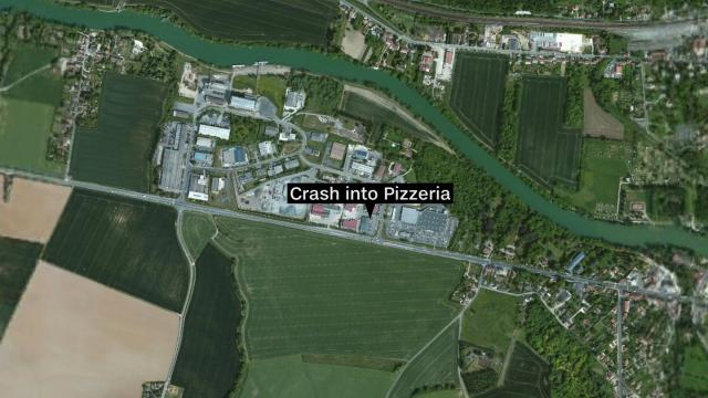 A car was intentionally rammed into a pizzeria in Sept-Sorts, France, 34 miles east of Paris, on August 14, 2017, a spokesperson for the French Interior Ministry told CNN.