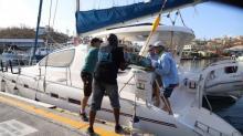 IMAGES: European leaders arrive in Irma-struck Caribbean as aid effort ramps up