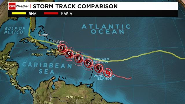 Hurricane Maria is forecast to rapidly strengthen over the next two days as it takes aim at Caribbean islands devastated by Hurricane Irma just days ago.