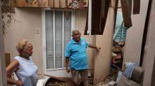 IMAGES: US war veteran's home destroyed in Puerto Rico