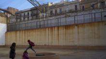 IMAGES: Catalonia's new conflict echoes in the halls of an old prison