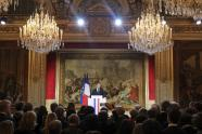 IMAGE: Macron Opens Year Pulling No Punches With Journalists, or Anyone