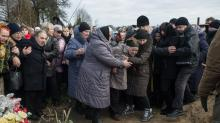 IMAGES: In Ukraine, a Successful Fight for Justice, Then a Murder