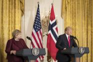 IMAGE: From Norway to Haiti, Trump's Comments Stir Fresh Outrage