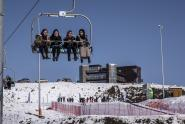 IMAGES: It's All Downhill in Chechnya, This Time on Skis