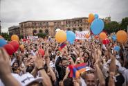 IMAGES: Behind Armenia's Revolt, a Young Army From the Tech Sector